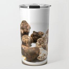 Tartufo bianco e nero | White and black mushrooms truffle. Travel Mug