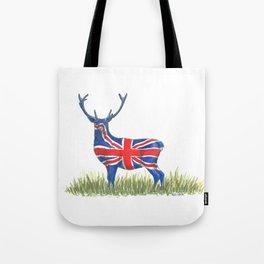 BRITISH Red Deer Tote Bag