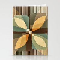 clover Stationery Cards featuring clover by Julia Tomova