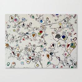 Biological Graffiti No. 1 Canvas Print