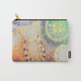Circles Carnival Carry-All Pouch