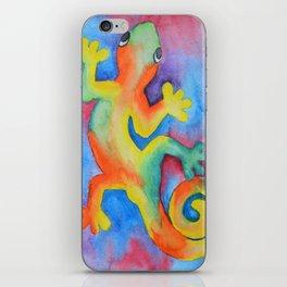 Tye Dye Gecko iPhone Skin