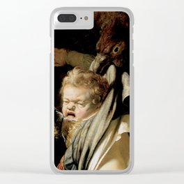 Abduction of Ganymede Clear iPhone Case