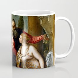 "Veronese (Paolo Caliari) ""Susanna and the Elders"" Coffee Mug"