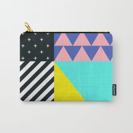 Memphis pattern 90 Carry-All Pouch