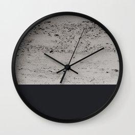 Charcoal on Concrete #1 #decor #art #society6 Wall Clock