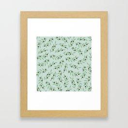 I left my heart in the Aegean Framed Art Print