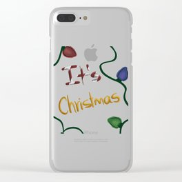 It's christmas Clear iPhone Case