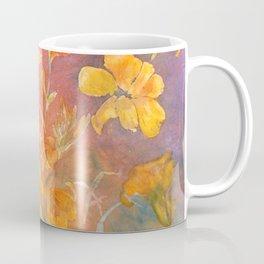 Layered Day Lilies Coffee Mug