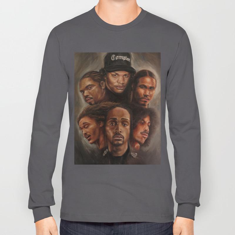 Bone Thugs N Harmony Oil Painting Long Sleeve T Shirt By