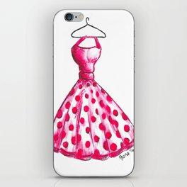 Dotty Dress iPhone Skin