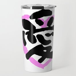 love in kanji Travel Mug