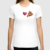 pizza T-shirts featuring Pizza  by Anderssen Creative Imaging