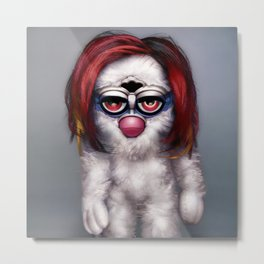 Furby Manson - Mechanical Animals Metal Print