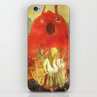 nightmare iPhone & iPod Skins featuring nightmare by Oscar Civit