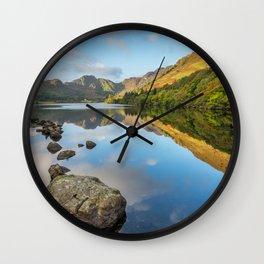 Crafnant Lake Snowdonia Wall Clock