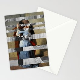 Hayez's The Kiss & Clark Gable and Vivien Leigh Stationery Cards