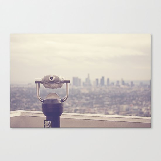 The View: Los Angeles Canvas Print