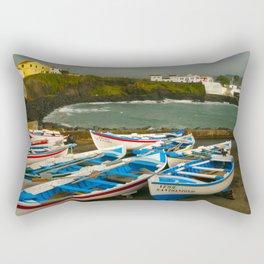 Portuguese harbour Rectangular Pillow