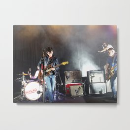 Arctic Monkeys in Brooklyn, New York Metal Print