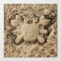 crab Canvas Prints featuring crab by Кaterina Кalinich