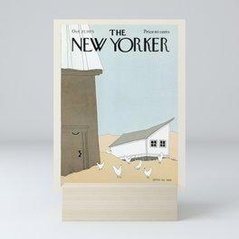 "Cover of "" The new Yorker"" magazine. Oct. 27 1975. Mini Art Print"