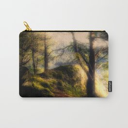 Misty Solitude, The Way Through The Woods Carry-All Pouch