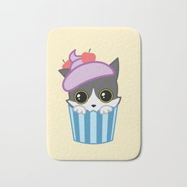 cupcake kitty Bath Mat