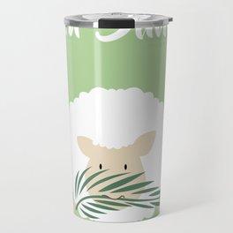 Palm Sunday Lamb Of God Travel Mug