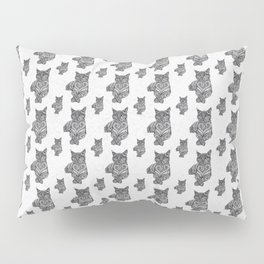 Zentangle Cat Pillow Sham