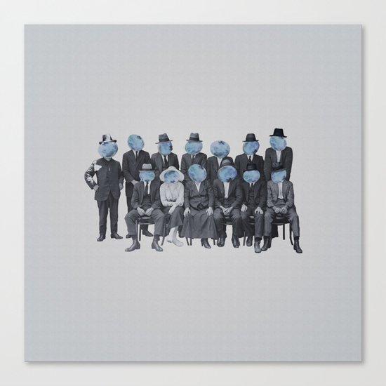 Blueberry Mugshot Canvas Print
