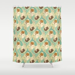 Dudes of the Deep Shower Curtain