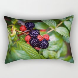 BLACK RASPBERRY Rectangular Pillow