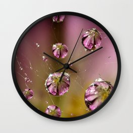 who knew a web could hold such treasures? Wall Clock