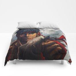 Ryu Focused  Comforters