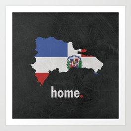 Dominican Republic Proud Art Print