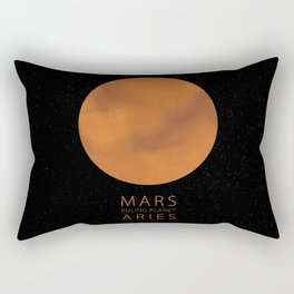 Aries - Ruling Planet Mars Rectangular Pillow