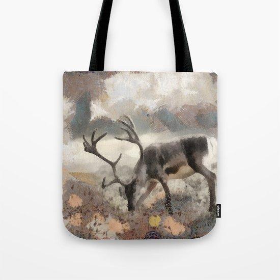 Deer By M. Mishkova Tote Bag