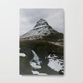 Kirkjufellsfoss, Iceland Metal Print