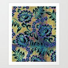 Tiki Dance Art Print