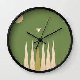 Take Flight 1 Wall Clock