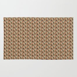 Fall Pumpkin Pattern Rug