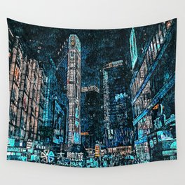 Nightlife Wall Tapestry