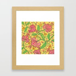 Florally Floral Town Framed Art Print