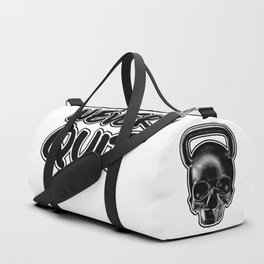 Never Quit / Show your work ethic Duffle Bag