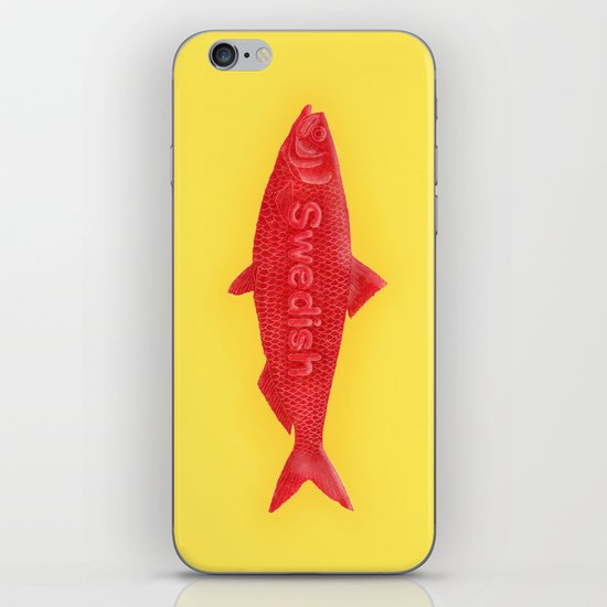 Swedish Fish iPhone & iPod Skin
