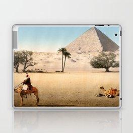 Vintage Pyramid : Grand Pyramid Gizeh Egypt 1895 Laptop & iPad Skin