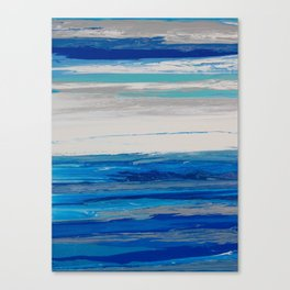 Endless and Infinite Blue Sky Canvas Print