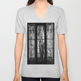 Glass Lady Unisex V-Neck