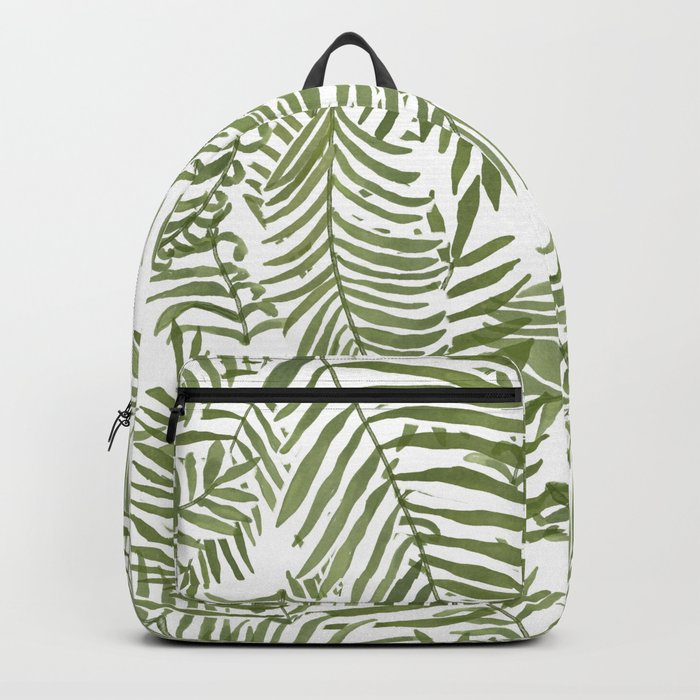 Areca Palm Pattern Backpack
